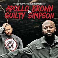 Apollo Brown & Guilty Simpson at Hoxton Bar & Kitchen on Saturday 2nd July 2016