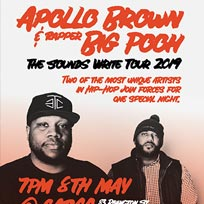 Apollo Brown & Rapper Big Pooh at Cargo on Wednesday 8th May 2019