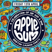 Applebum Brixton Launch Party at Prince of Wales on Friday 13th April 2018