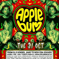 Applebum Halloween Hip Hop Horror Show at The Garage on Tuesday 31st October 2017