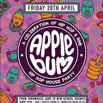 Applebum Hip Hop House Party at The Nest on Friday 20th April 2018
