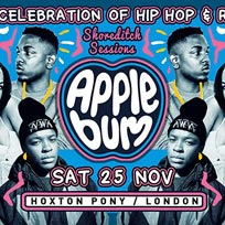 Applebum at The Hoxton Pony on Saturday 25th November 2017