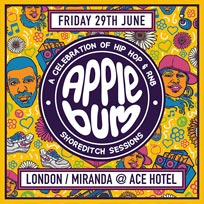 Applebum at Ace Hotel on Friday 29th June 2018