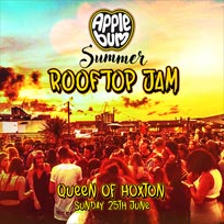 Applebum Summer Rooftop Jam at Queen of Hoxton on Sunday 25th June 2017