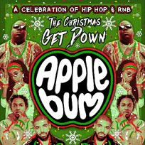 Applebum at Brixton Rooftop on Saturday 16th December 2017