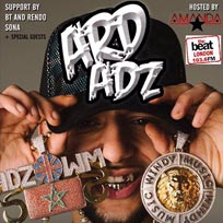 Ard Adz at Islington Academy on Wednesday 24th May 2017