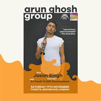 Arun Ghosh at Archspace on Saturday 17th November 2018