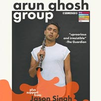 Arun Ghosh at Corsica Studios on Friday 23rd November 2018