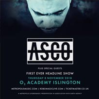 Asco at Islington Academy on Thursday 8th November 2018