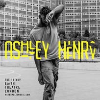 Ashley Henry at EartH on Tuesday 19th November 2019