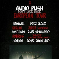 Audio Push at Hangar on Tuesday 26th February 2019
