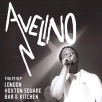 Avelino at Jazz Cafe on Thursday 29th September 2016