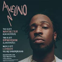 Avelino at Village Underground on Monday 22nd October 2018