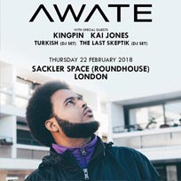 Awate at The Roundhouse on Thursday 22nd February 2018