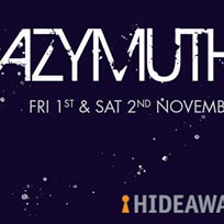 Azymuth at Hideaway on Friday 1st November 2019