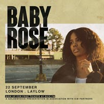 Baby Rose at Laylow on Sunday 22nd September 2019