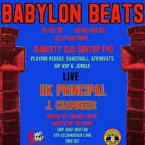 Babylon Beats at Chip Shop BXTN on Thursday 8th August 2019