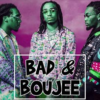 Bad & Boujee at Hoxton Square Bar & Kitchen on Saturday 25th August 2018