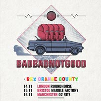 BADBADNOTGOOD at The Roundhouse on Tuesday 14th November 2017