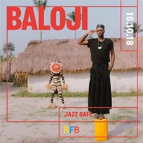Baloji at Jazz Cafe on Tuesday 16th October 2018