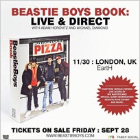 Beastie Boys Book: Live & Direct  at Hackney Arts Centre on Friday 30th November 2018