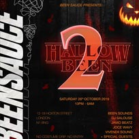 #Hallowbeen II at Hoxton Basement on Saturday 26th October 2019