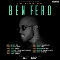 Ben Fero at Islington Academy on Friday 27th March 2020