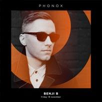 Benji B at Phonox on Friday 18th November 2016
