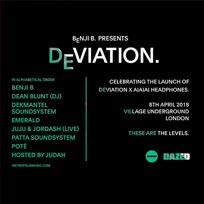 Deviation at Village Underground on Sunday 8th April 2018