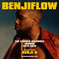 BenjiFlow at Camden Assembly on Thursday 28th November 2019