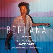 Berhana at Jazz Cafe on Thursday 22nd March 2018