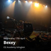 Bexey at Islington Academy on Wednesday 17th April 2019