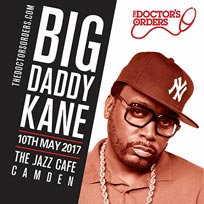 Big Daddy Kane at Jazz Cafe on Wednesday 10th May 2017