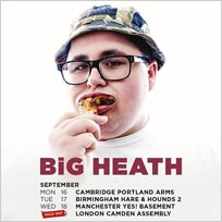 Big Heath at Camden Assembly on Thursday 19th September 2019