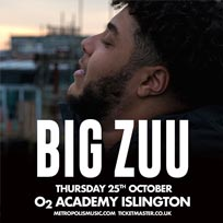 Big Zuu at Islington Academy on Thursday 25th October 2018