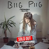 Biig Piig at Village Underground on Tuesday 19th March 2019