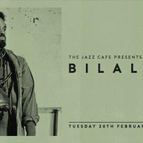 Bilal at Jazz Cafe on Tuesday 20th February 2018