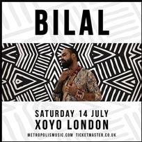 Bilal at XOYO on Saturday 14th July 2018