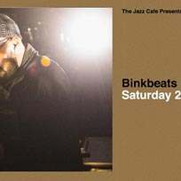 Binkbeats at Jazz Cafe on Saturday 23rd March 2019