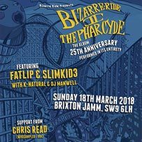 Bizarre Ride II The Pharcyde at Brixton Jamm on Sunday 18th March 2018