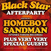 Black Star Afterparty at Archspace on Friday 20th October 2017