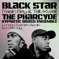 Black Star + The Pharcyde at Hammersmith Apollo on Sunday 8th July 2018