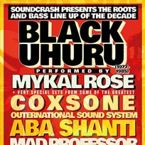 Black Uhuru performed by Mykal Rose at The Forum on Friday 13th October 2017