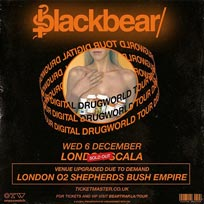Blackbear at Shepherd's Bush Empire on Wednesday 6th December 2017