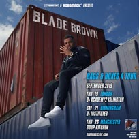Blade Brown at Islington Academy on Thursday 19th September 2019