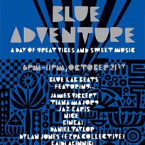 Blue Adventure at Oval Space on Sunday 21st October 2018