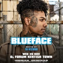 Blueface at Brixton Academy on Wednesday 20th November 2019