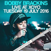 Bobby Brackins at XOYO on Tuesday 19th July 2016