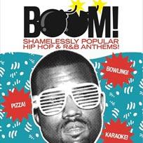 BOOM! at Bloomsbury Bowl on Friday 18th November 2016