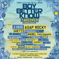 Boy Better Know Takeover at The o2 on Sunday 27th August 2017